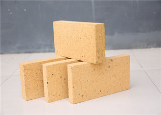 Customized Size High Alumina Refractory Bricks For Waste Incinerators